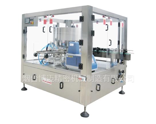 回转式预切标热熔胶贴标机